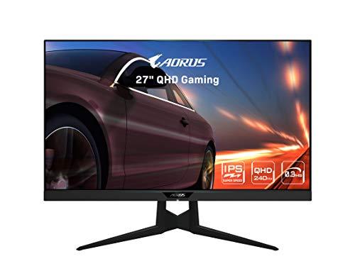 AORUS FI27Q-X 27' 240Hz 1440P HBR3, NVIDIA G-SYNC Compatible, SS IPS Gaming...