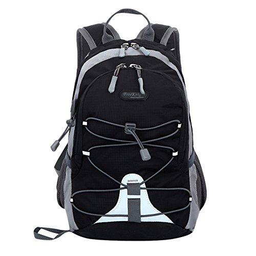 YWLINK Unisex Klassisch Damen Herren Rucksack Falten ReißVerschluss Wasserabweisend Nylon Bergsteigen Reisen Schulrucksack Reiten Paket