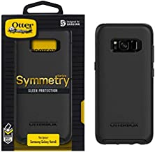 Symmetry Series Case for Samsung Galaxy Note8 Bundle with UrbanX Tempered Glass Screen Protector - Black