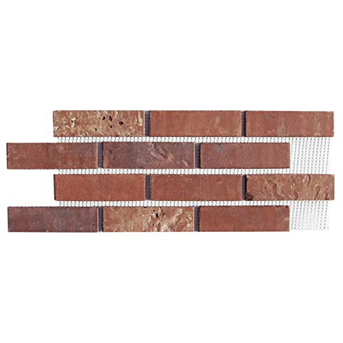 Brickwebb Thin Brick Sheets - Flats (Box of 5 Sheets) - Independence