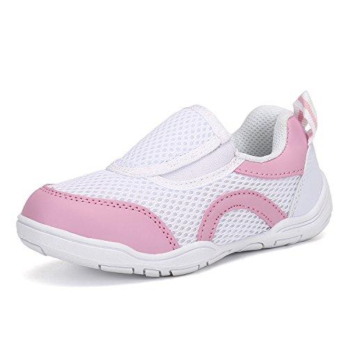 [Mishansha]キッズ上履き子供靴幼稚園学校保育園(16.0cm,ピンク)