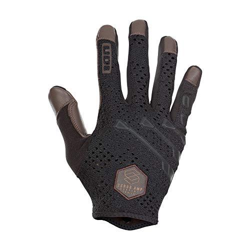 Ion Scrub Select MX DH FR Fahrrad Handschuhe lang braun/schwarz 2021: Größe: M