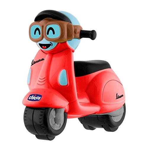Chicco 0000962500000 Vespa Mini voitures de course Turbo Touch Rouge