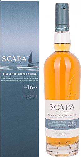 Scapa 16 Jahre Single Malt Scotch Whisky (1 x 0.7 l)