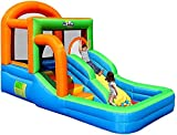 wangYUEQ Bouncy Castles - Trampolín inflable para niños,...