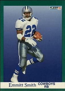 1991 Fleer #237 Emmitt Smith NFL Football Trading Card