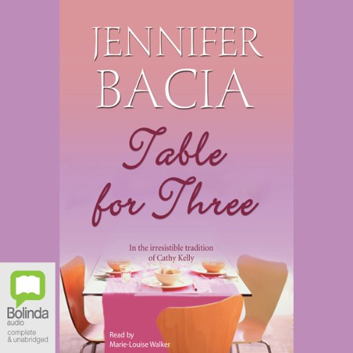 Table for Three audiobook cover art