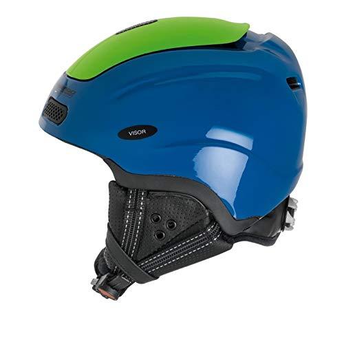 MANGO Jango skihelm kinderen unisex blauw groen XS 48-50