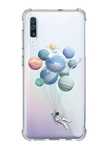 Oihxse Cristal Compatible con Samsung Galaxy J5 2017/J5 Pro/J530 Funda Silicona TPU Suave Ultra-Delgado Protector Estuche Creativa Patrón Protector Anti-Choque Carcasa Cover Bumper-A2