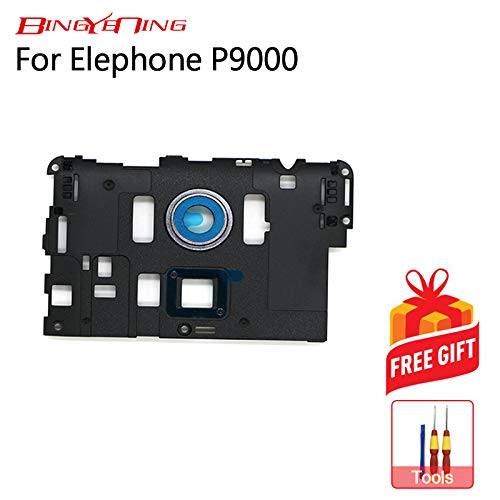 AiBaoQi For Elephone P9000 Back Frame Shell Case Camera Glass Lens