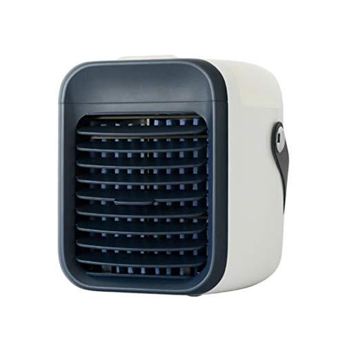 Ventilador de Aire Acondicionado Personal, Enfriador de Aire portátil, Adecuado para Escritorio, Ajustable a 3 velocidades, Adecuado para el hogar y la Oficina