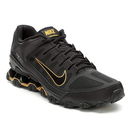 Nike Men's Reax 8 TR Training Shoe Black/Gold 10.5