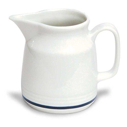 Tognana az032307420 Pot à Lait AZ Fil, Porcelaine, Blanc/Bleu, 1