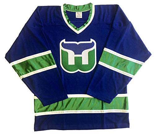 Tally Whalers Jerseys - Ready to Customize with Your Name and Number (Blue, XL)
