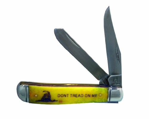 The LMTD Group, Inc. Factory X Rough Rider Don't Tread On Me Messer