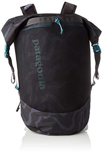 Patagonia Planing Roll Top, Unisex-Erwachsene Rucksack, Schwarz (Ink Black), 32x42x22 cm (W x H L)