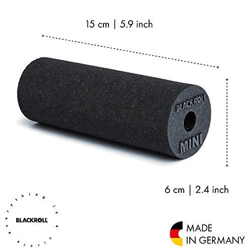 Blackroll Selbstmassagerolle Mini, Schwarz, BRBMBKSAC - 2