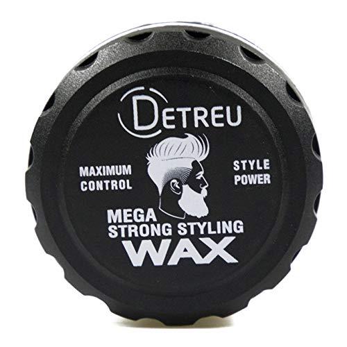 Detreu IRON Mega Strong Haar Styling Gel Wax 140ml Haarwachs Gel-Wax Haar-Wax mit Wet-Look Effekt (1 x 140 ml)