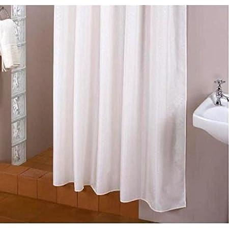 Trimming Shop Rideau de douche de salle de bain 180 x 180 cm carr/é gris et noir fabriqu/é en polyester de qualit/é sup/érieure r/ésistant /à la moisissure et /à la moisissure avec 12 crochets