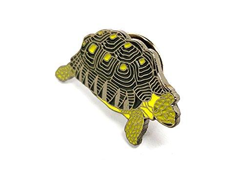 Anstecknadel mit Motiv: Schildkröte, aus emailliertem Metall, hochwertig, für Kleidung, Rucksack, Mützen und vielem mehr, ideal als Geschenk