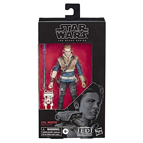 STAR WARS The Black Series Cal Kestis Toy 6 Scale Jedi: Fallen Order Collectible Action Figure, Toys for Kids Ages 4 & Up
