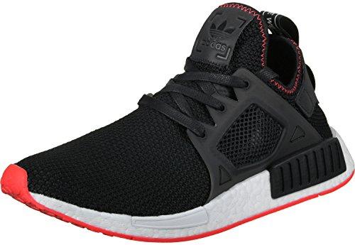 adidas Nmd_Xr1, Herren Hallenschuhe, schwarz (Negbas/Negbas/Rojsol), 43 1/3 EU (9 UK)