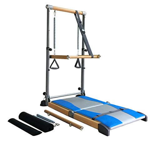 Beverly Hills Fitness Supreme Pilates Pro with Ballet Barre Toning Tower, Yoga Pad, and DVDs