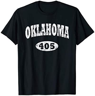 Oklahoma Shirt Area Code 405 T Shirt OK product image