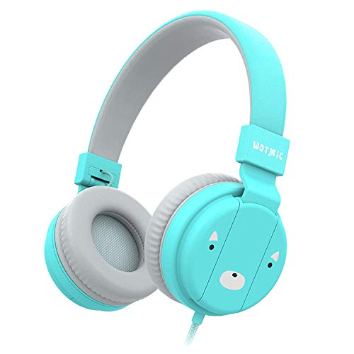 Wotmic Wired Headset Foldable Children On Ear Headphone $7.74 (45% Off)