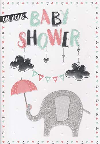 Greeting Card - Baby Shower - Cute Elephant