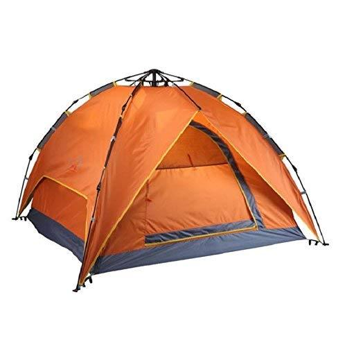 RYP Guo Outdoor Products Outdoor Haut de Gamme 3-4 Personnes Tentes de Camping automatiques, faciles à Construire, imperméables et Coupe-Vent, Solides et durables, tentes de Camping en Famille,3-4 PE