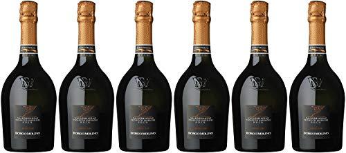 Borgo Molino Vigne & Vini Prosecco Superiore extra dry Venetien NV Prosecco (6 x 0.75 l)