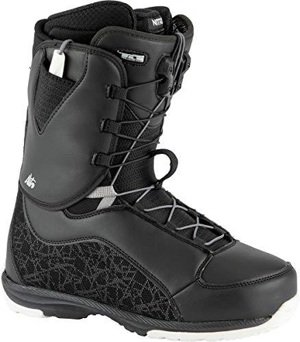 Nitro Damen Futura TLS Boot´21 Snowboardboot, Black-White, 250