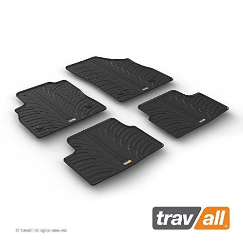 Travall Mats Gummifußmatten Kompatibel Mit Opel Astra 5 Türer Fließheck und Sports Tourer (Ab 2015) TRM1237 - Allwettermatten Nach Maß Fussmatten Set