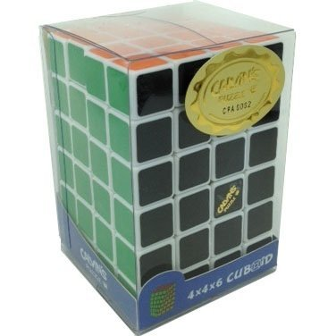 White 4x4x6 Calvins   Cuboid  by