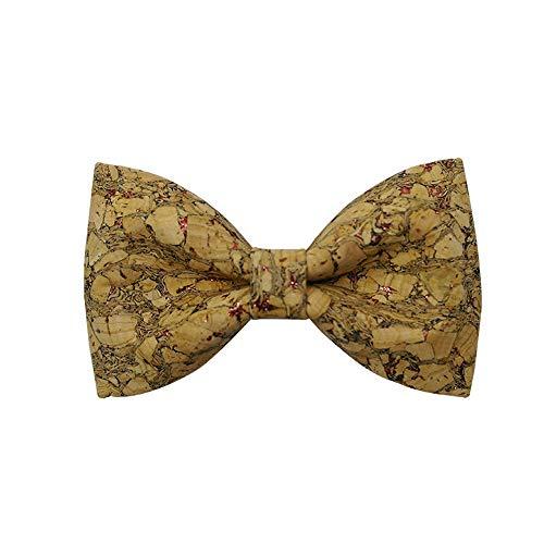 Tie Fashion Papillon in Legno da Uomo Papillon in Legno Creativo Fatto a Mano con Confezione Regalo (Colore : Red Sequins)