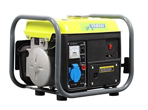 Varan Motors - 92508-2 750W tragbares Benzin Stromerzeuger, 1 x 230V, 1 x 12V