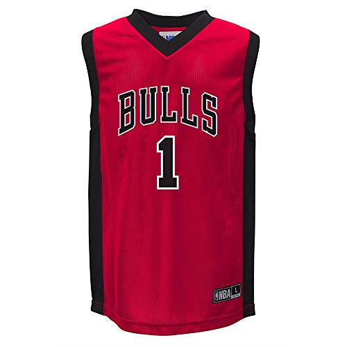 Derrick Rose Chicago Bulls NBA Replica Youth Red Jersey (Medium)
