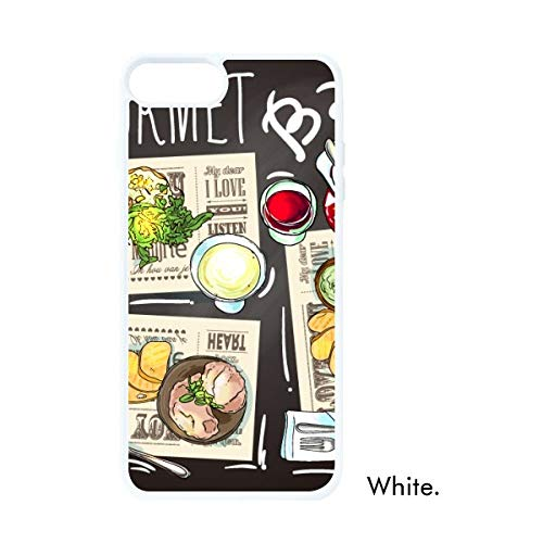 DIYthinker Gourmet Bar Steak Soep Limonade Wit Phonecase Apple Cover Case Gift