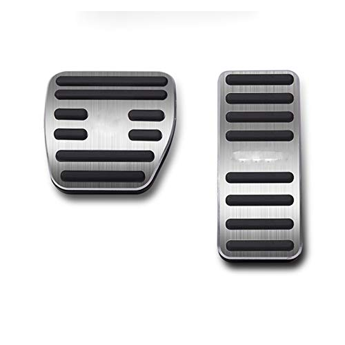 HUILING September Department Store Cubierta de Combustible del pie Aluminio Accelerador de automóviles Pedal Fit para Smart FORTWO 453 451 Ajuste para Cuatro 2015 2016 2017 2018 2019 2020
