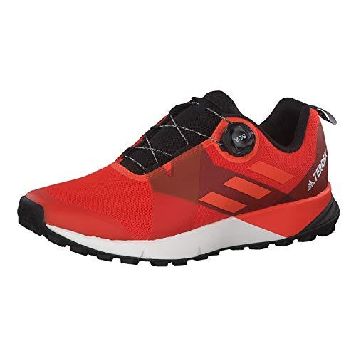 Adidas Terrex Two Boa, Zapatillas de Deporte para Hombre, Multicolor (Naract/Naraut/Negbás 000), 47 1/3 EU