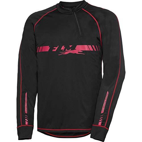 FLM Funktionsshirt, Shirt, Langarmshirt Funktionsshirt mit Stormproof Membran 1.0 schwarz XL, Herren, Multipurpose, Ganzjährig, Textil