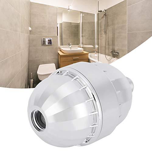 wosume 【𝐕𝐞𝐧𝐭𝐚 𝐑𝐞𝐠𝐚𝐥𝐨 𝐏𝐫𝐢𝐦𝐚𝒗𝐞𝐫𝐚】 Filtro de Ducha, G1/2in Baño Filtro de Ducha Purificador de Agua Filtración Multicapa para Uso en el hogar