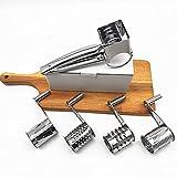 Cepillador de queso giratorio de acero inoxidable, cepillador de queso giratorio de mano, cepillador de queso giratorio de...