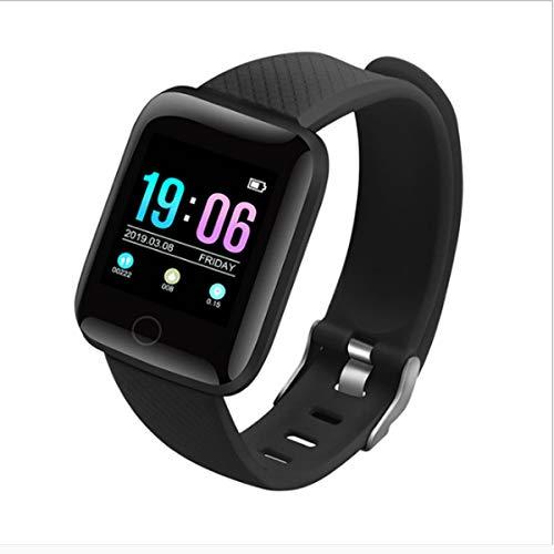 Fitness Armband, 1.3 Zoll Touchscreen Smartwatch mit Pulsuhren, Schrittzähler, Wasserdicht IP67 Sportuhr für Damen Herren mit i-OS, Android