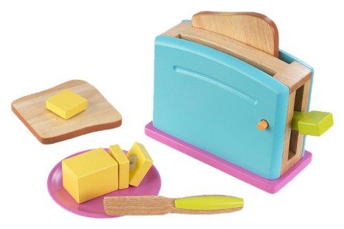 KidKraft 63315 - Buntes Toaster-Set