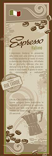 Posters: Coffee Poster Art Print - Espresso Italiano, In Italian (62 x 21 inches)