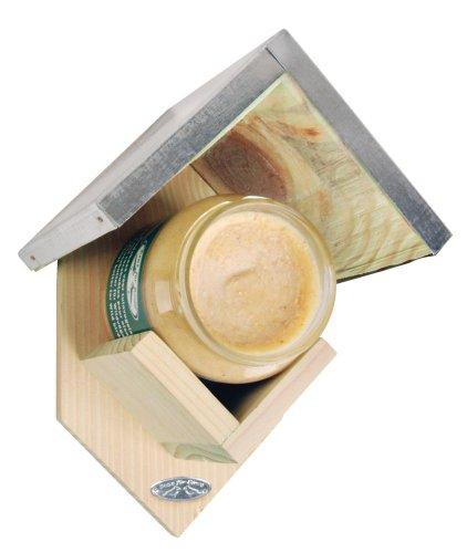 Esschert Erdnussbutter-Haus mit Erdnussbutter für Wildvögel