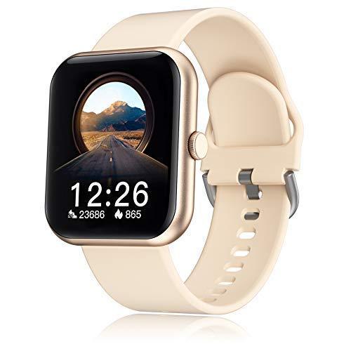 ideapro Smartwatch für Männer Frauen, Fitness Tracker mit Herzfrequenzmesser Schlafmonitor, Fitnessuhr mit Schrittzähler IP67 Wasserdicht 1.7 Zoll Touch-Farbdisplay Fitness Armbanduhr