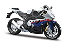 BMW S1000RR White/Red/Blue Motorcycle 1/12 by Mailto 31191